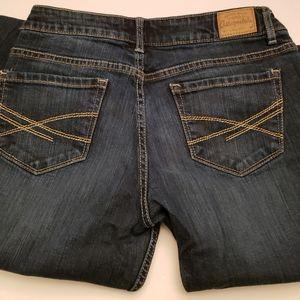 Aeropostle Jeans Bayla 7/8 short skinny blue